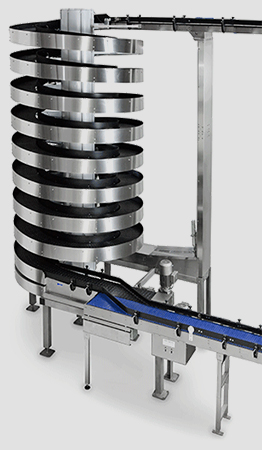 Mass Flow High Capacity Spiral Conveyor from Ryson