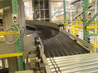 Spiral Conveyor Exit