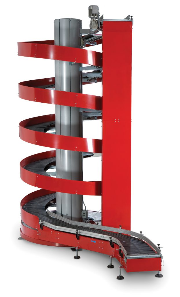 Ryson Case Spiral Conveyor