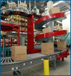 Unit Load Spiral Conveyor