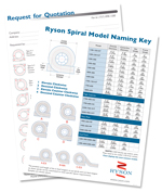 Download is RFQ form and Ryson Spiral Model Size Chart